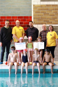 SV Mergelstetten als SchwimmGut-Schwimmschule ausgezeichnet