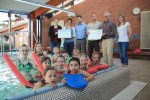 Schwimmschule der SG Schorndorf erstmalig ausgezeichnet