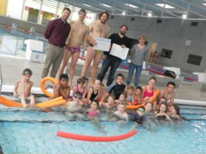 Schwimmschule des SV Ludwigsburg zertifiziert