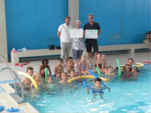 Turnerbund Bad Cannstatt ist SchwimmGut Zertifizierte Schwimmschule