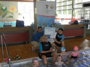 Sportvereinigung Feuerbach von SchwimmGut ausgezeichnet