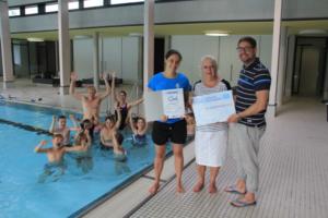 SV Böblingen erhält SchwimmGut-Siegel