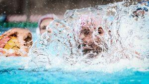 Wasserball im Fokus